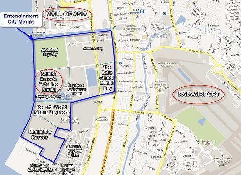 Carte Solaire Hôtel Map
