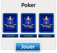 Poker (Jeu en flash)