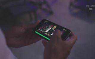 Jeux Live Netent sur Mobile