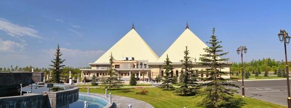 Vue extérieure du Casino Arménien Pharaon