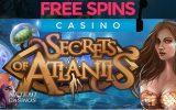 Secrets of Atlantis, le dernier jeu dévoilés par NetEnt