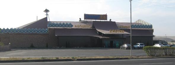 Vue extérieur du casino Arménien Shangri La